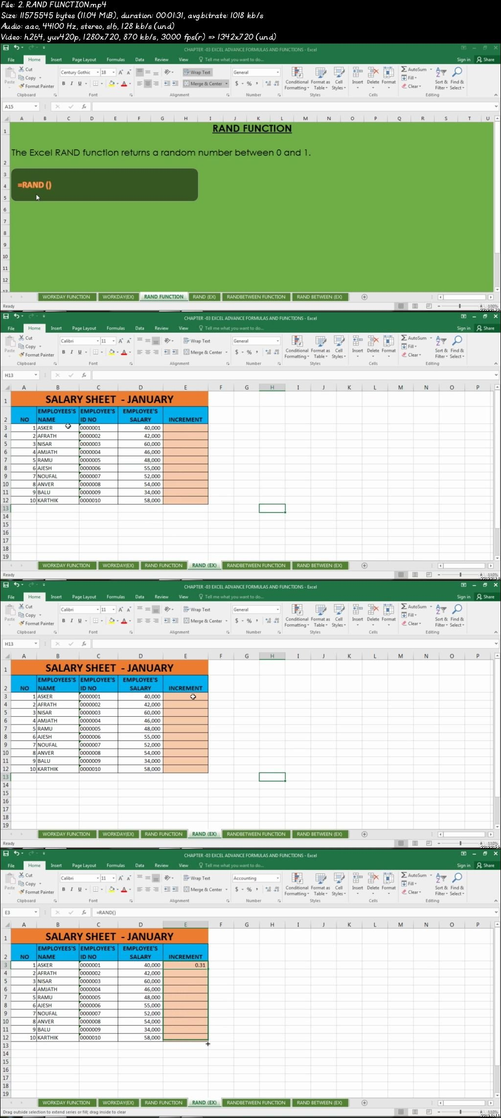 Download Advanced Microsoft Excel Formulas Amp Functions