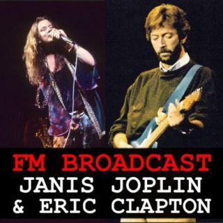 Janis Joplin & Eric Clapton – FM Broadcast Janis Joplin & Eric Clapton (2020)