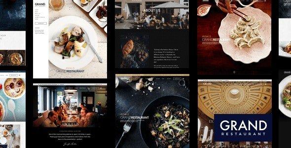 Download ThemeForest - Grand Restaurant v5.9.4 - WordPress ...