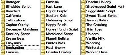 Mix Font Bundle 72 - 36 Premium Fonts