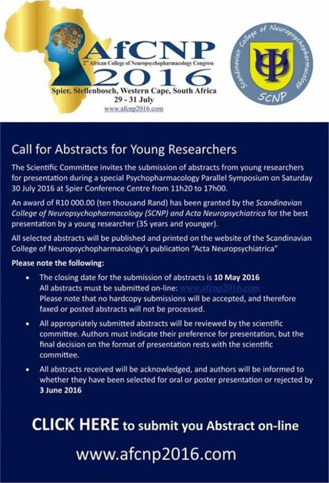 AfCNP call young researchers