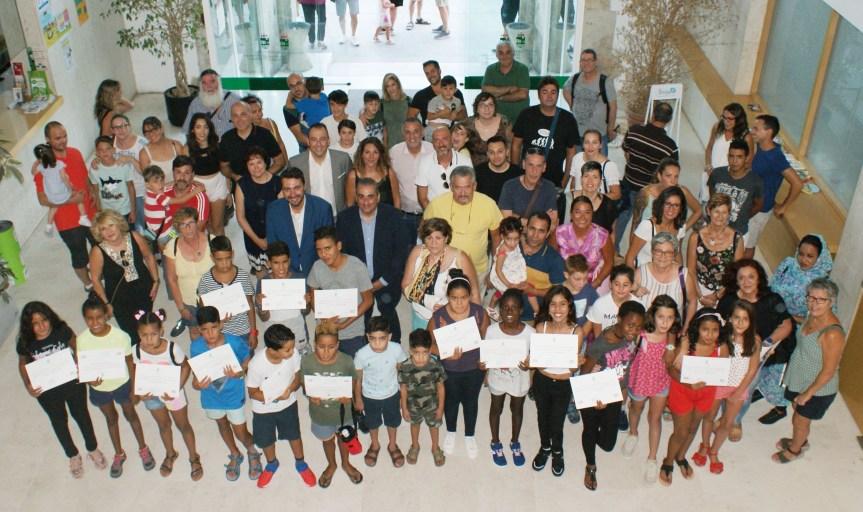 Despedida a los niños saharauis del programa 'Vacaciones en Paz'