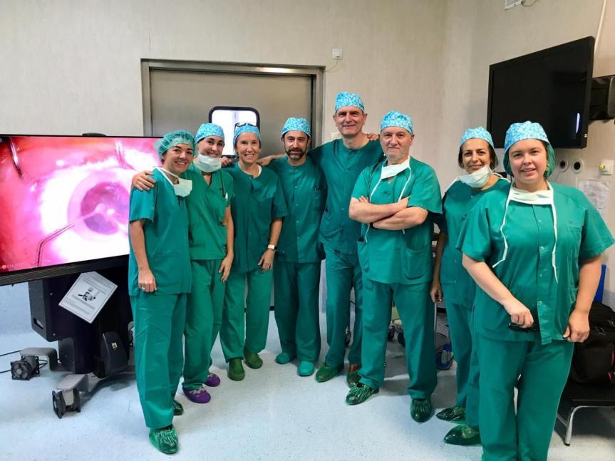 El Hospital del Henares forma a oftalmólogos en sistemas de visualización 3D