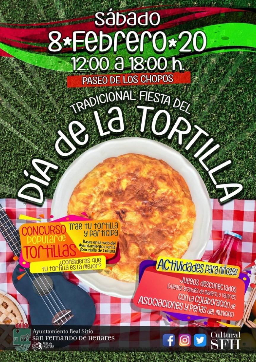 'Los Chopos' acogen el sábado el Día de la Tortilla