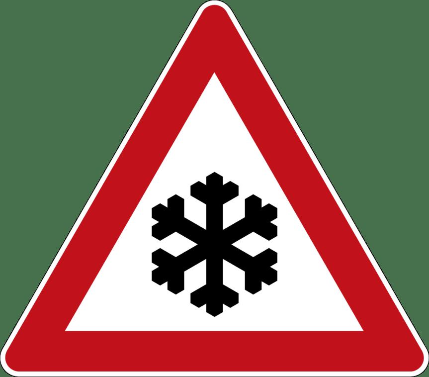 Alerta meteorológica por nieve para este martes