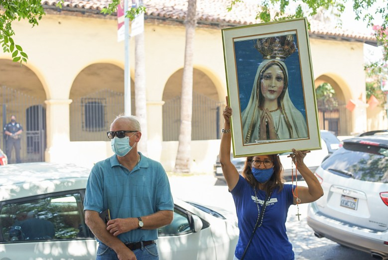 Serra Protest 3