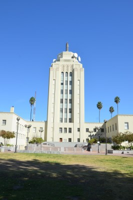 Van Nuys City Hall, site for the 1st annual San Fernando Valley Mini Maker Faire