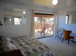 Sunrise Bedroom, Queen Bed, Invigorating views of Ocean, Coast, & San Francisco.