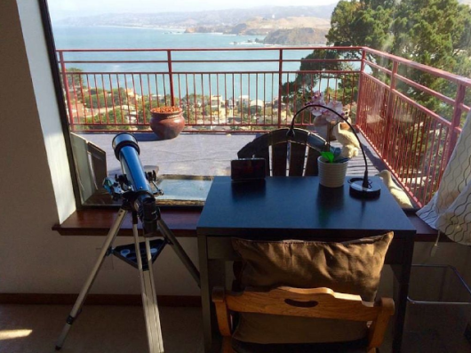 Computer Table: The Spectacular Views get your creativity going.