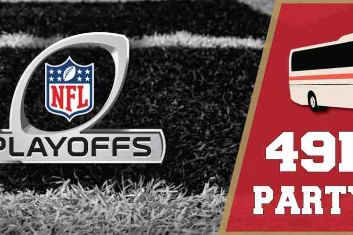 Levi's Stadium Party Bus: 49ers Divisional Playoff Game (SF Pickup)