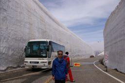 大谷雪の壁