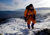 04上天気の中山頂を目指す。