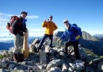 14.南岳山頂 いよいよ岩稜帯の始まり!