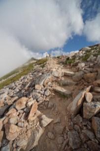 25大天井岳への登り