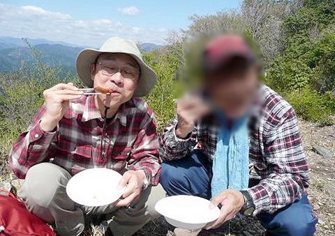 2010年4月24日 相戸岳(671m)(岐阜県山県市/旧美山町)