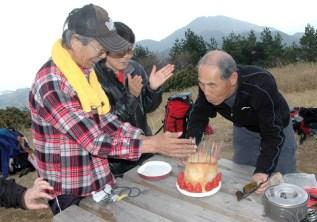 07岩師匠の誕生パーティー。