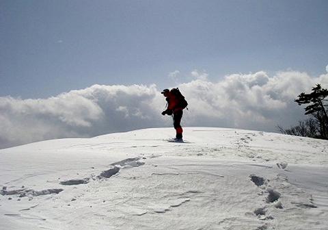 2010年4月3日 滝波山(1412m)(岐阜県板取村)
