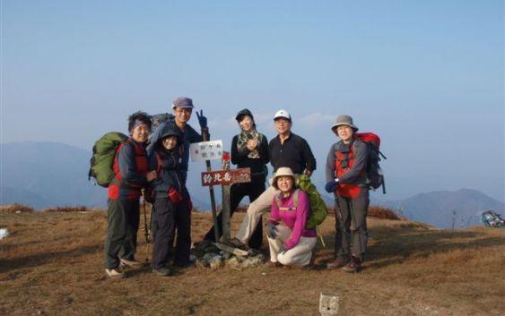 2010年11月7日(日) 鈴北岳~鈴ヶ岳~茶野 リハビリ山行