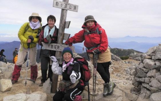 2010年 10月16日 自主山行 木曽駒ヶ岳
