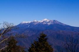 山頂から御嶽山
