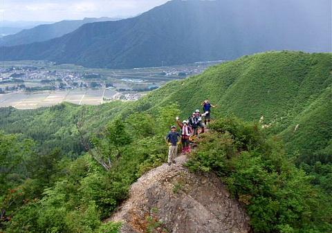 2009年5月30日 自主山行 金城山(1367m)・坂戸山(634m)