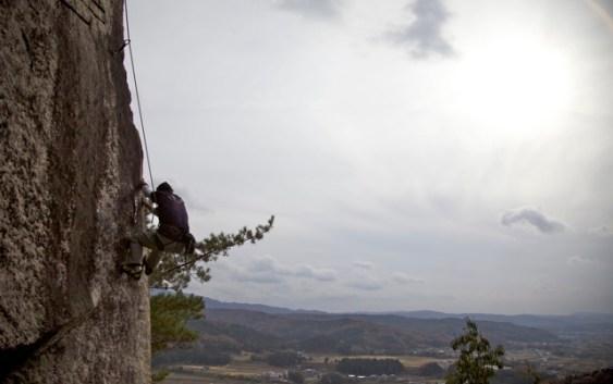 2010年11月28日 忘年クライミング 屏風山