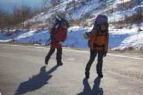 1.3kmの登り