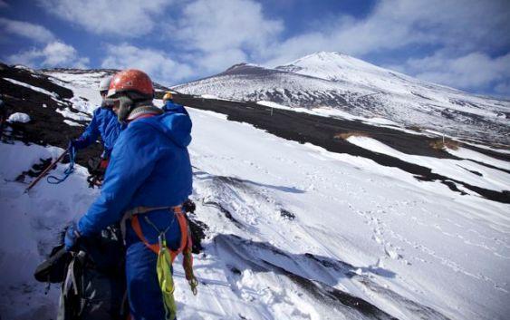 2010年12月11日 富士山御殿場口 雪上訓練