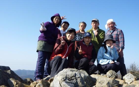2010年12月5日 自主山行 藤原岳積雪観察用ポール建て直し