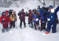 2011年1月29~30日 岐阜・虎子山 雪上生活&ラッセル訓練?!