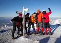 2011年1月9日〜10日 自主山行 北八ヶ岳 北横岳・縞枯山