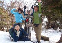 2011年 3月 定例山行 宮指路岳