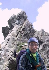 17 核心部の登攀を終えて。
