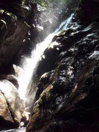 八池谷遡行~八つ淵の滝(比良) (6)