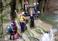 2008年 7月12日 定例山行B  八池谷遡行~八つ淵の滝(比良)