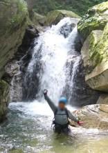 八池谷遡行~八つ淵の滝(比良) (11)