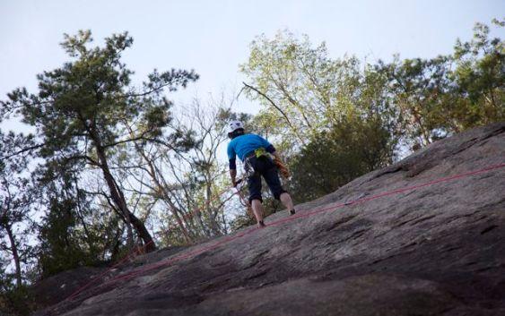 2011年4月10日 クライミング訓練 南山