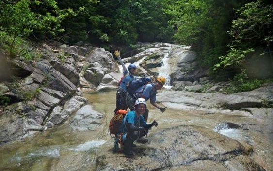 2011年 7月2日 鈴鹿 赤坂谷〜ツメカリ谷 沢登り
