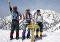 鹿島槍ヶ岳(2889m) (8)
