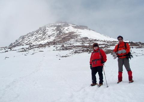 2008年5月17日自主山行  御嶽山(3063m)