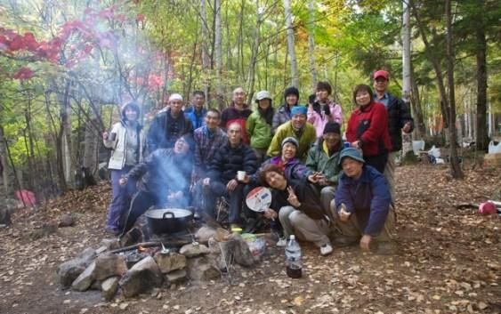 2011年10月8日〜10日 小川山(廻り目キャンプ場)クライミング