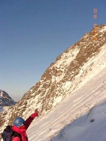 25 あの稜線を登った。