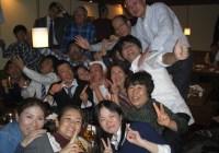 2011年12月20日 名古屋山岳同志会街の忘年会