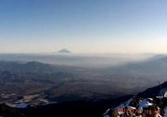 16 富士山が祝福。