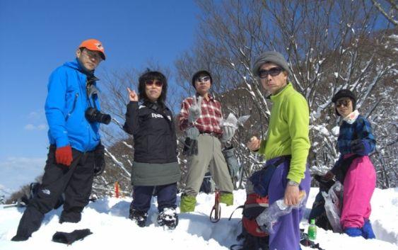 2012年1月29日(日)自主山行 霊仙山