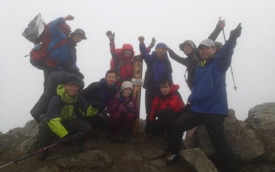 2013年7月6日7日 間ノ岳(3189m)、北岳(3193m)-自主山行 南アルプス