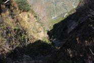 17 左俣谷を見下ろす