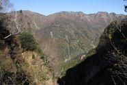 18 弓折から抜戸への稜線