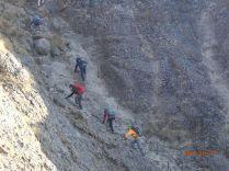 横岳の核心