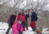 2014年1月5日 福井県 野坂岳(913.5m)自主山行